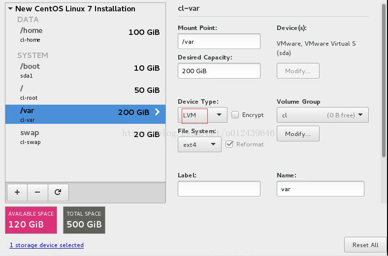 Centos 7 利用LVM实现动态扩容